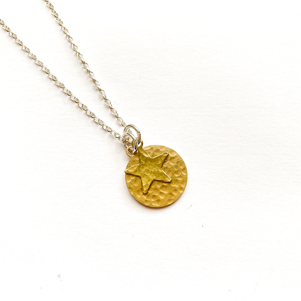 Brass Twilight Necklace