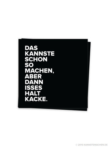Sticker Schwarz (2er Set)