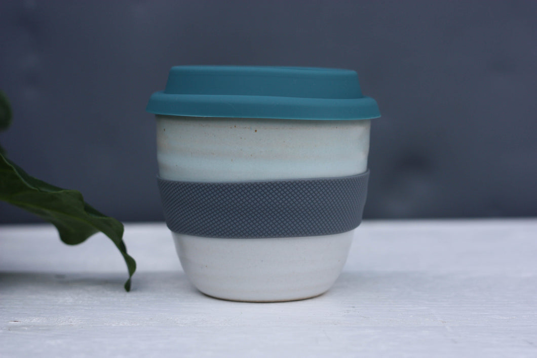 Keep Cup 300ml 10 oz Pottery Latte Cup Handle free Mug handmade ceramic cup beaker tumbler