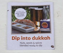 Load image into Gallery viewer, Vegan Dukkah Dipping Set with two Heart Dishes