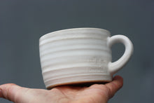 Load image into Gallery viewer, 8oz 250ml Ceramic Mug in White glaze