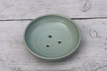 Load image into Gallery viewer, Soap Dish in Pale Green Celadon Glaze