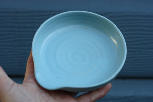 Blue and White Glazed Spoon Rest