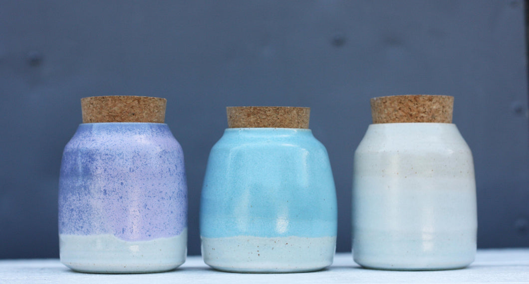 Cute Small Storage Jars Herb Jars