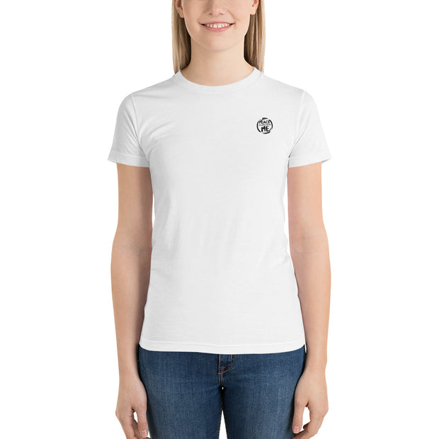 Women Tshirt Left Chest Logo