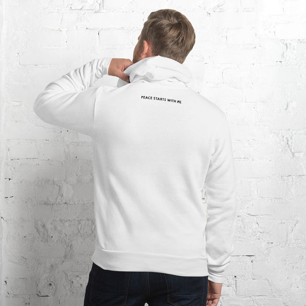 Men Hoodie Left Chest Logo