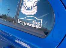 Load image into Gallery viewer, CT Lancers Third Window Sticker