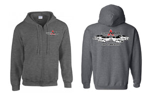 LancerNation Official Zip-Up Hoodie