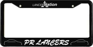 PR Lancers License Plate Frame