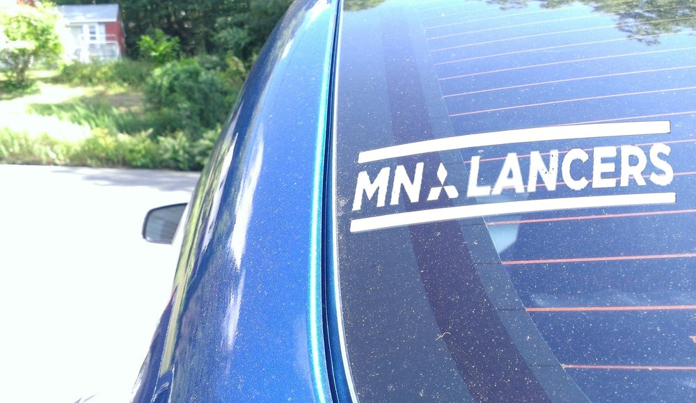 MN Lancers Third Window Text Sticker