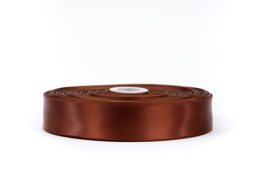 50 Yards x 2.5cm Width Double Sided Satin Ribbon
