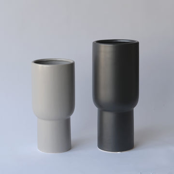 Matt Ceramic Tall Vase