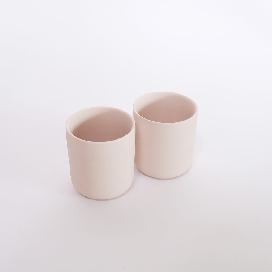 Pottery Container Set of 2
