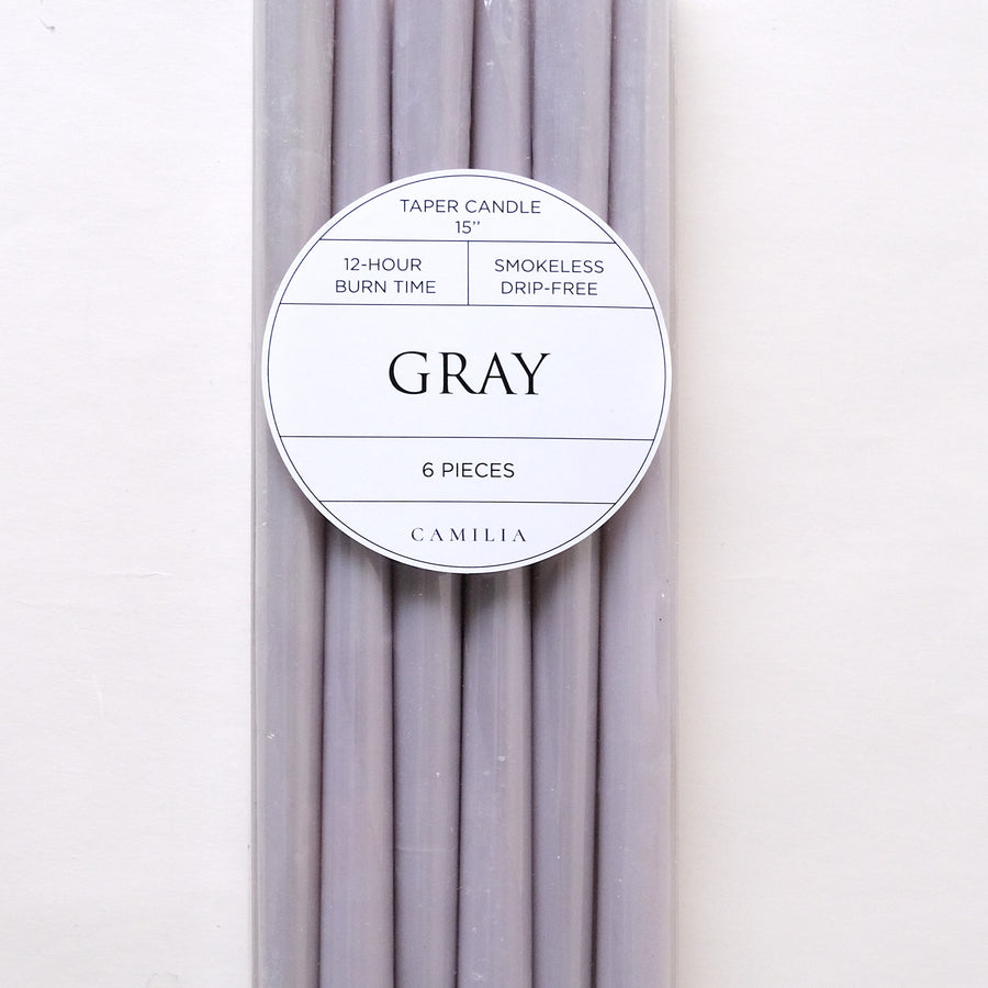 15 inch Taper Candles 6pcs/pack