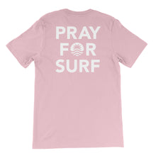 Load image into Gallery viewer, Pray For Surf S/S Pink Tee