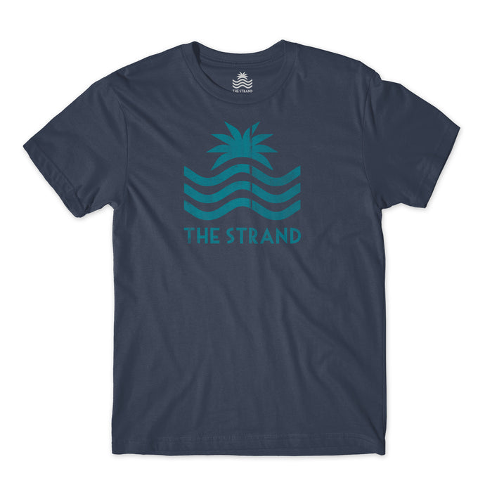 Strand Weathered S/S Navy Tee