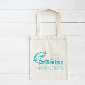 Sea Tree Heavy Duty Cotton Tote Bag (with free exchange).