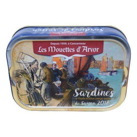 Sardines in Extra Virgin Olive Oil - 87g
