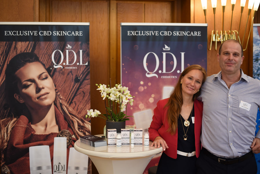 QDL Cosmetics introduces Premium quality CBD Skincare to the German Press