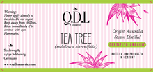 Laden Sie das Bild in den Galerie-Viewer, QDL Cosmetics Teebaumöl / Tea Tree Oil