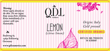 Laden Sie das Bild in den Galerie-Viewer, QDL Cosmetics Zitroneöl / Lemon Oil