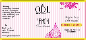 QDL Cosmetics Zitroneöl / Lemon Oil