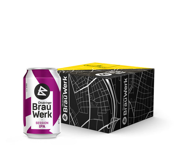 Ottakringer BrauWerk BIG EASY | Session IPA (36x0,33L)