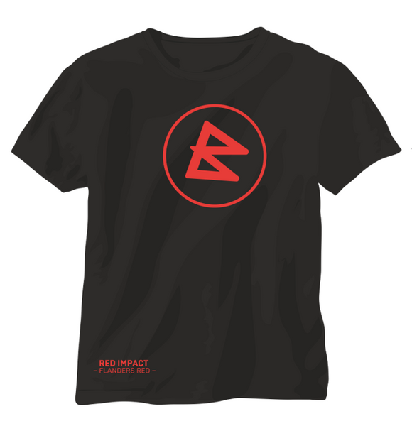 T-Shirt BRAUWERK RED IMPACT