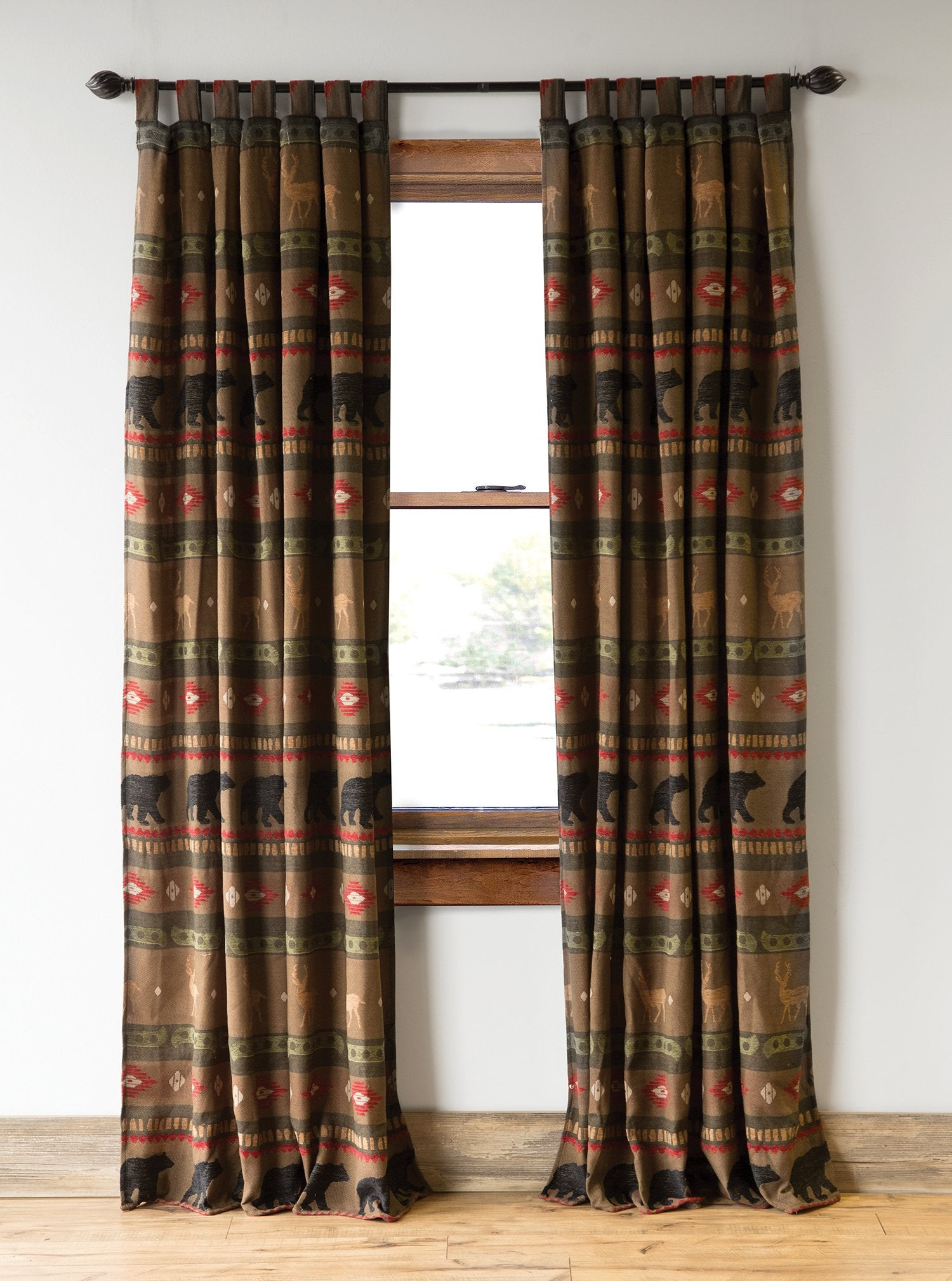 Forest Walk Drape Set Carstens - unique linens online
