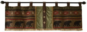 Forest Walk Valance Set Carstens - unique linens online