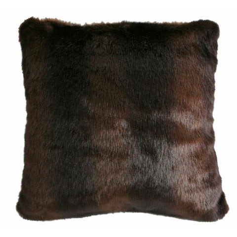 Bear Faux Fur Pillow Carstens - unique linens online