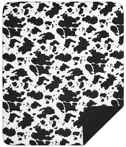 Black Cow Denali Blanket - unique linens online