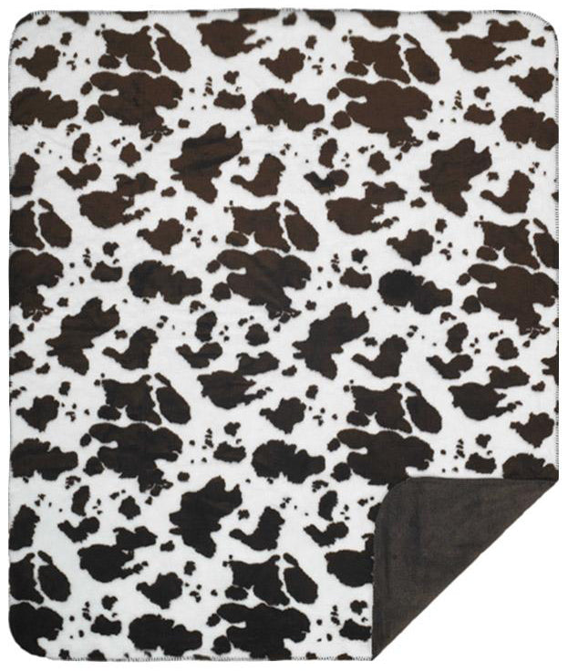 Brown Cow Denali Blanket - unique linens online