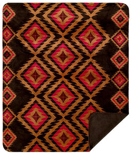 Red Diamond Denali Blanket - unique linens online
