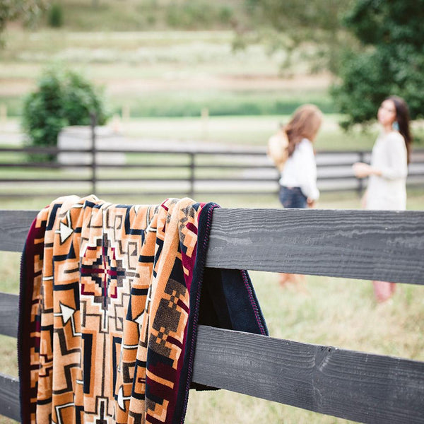 Hill Country Denali Blanket - unique linens online