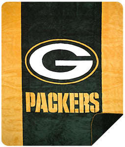 Green Bay Packers NFL Denali Throw Blanket - unique linens online