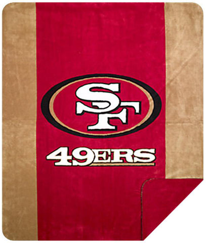 San Francisco 49ers NFL Denali Throw Blanket