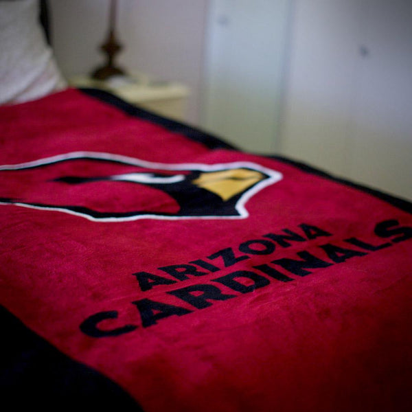Arizona Cardinals NFL Denali Throw Blanket - unique linens online