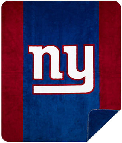 New York Giants NFL Denali Throw Blanket - unique linens online