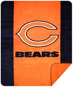Chicago Bears NFL Denali Throw Blanket - unique linens online