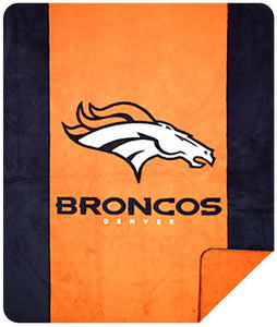 Denver Broncos NFL Denali Throw Blanket - unique linens online