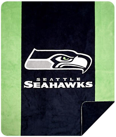 Seattle Seahawks NFL Denali Throw Blanket