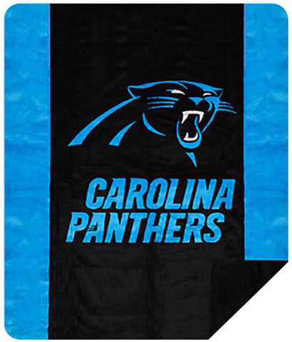 Carolina Panthers NFL Denali Throw Blanket - unique linens online