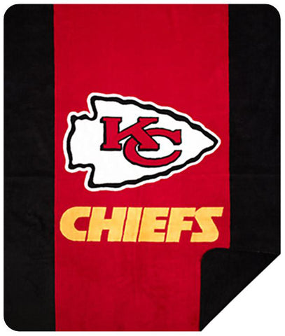 Kansas City Chiefs NFL Denali Throw Blanket