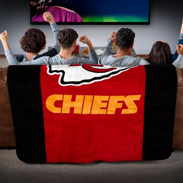 Kansas City Chiefs NFL Denali Throw Blanket - unique linens online