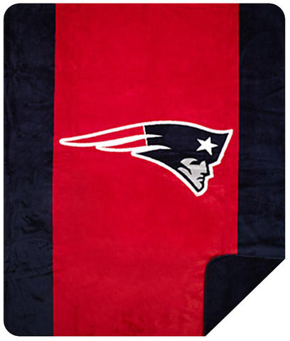 New England Patriots NFL Denali Throw Blanket