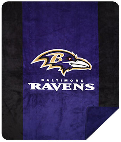 Baltimore Ravens NFL Denali Throw Blanket - unique linens online
