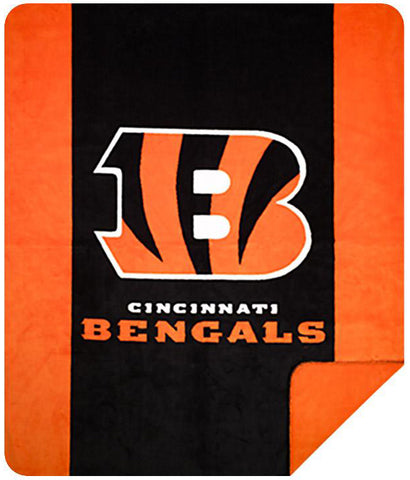 Cincinnati Bengals NFL Denali Throw Blanket - unique linens online
