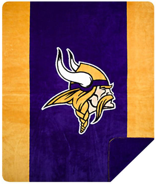 Minnesota Vikings NFL Denali Throw Blanket - unique linens online