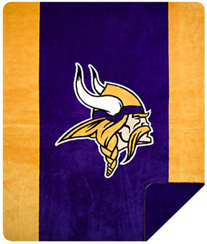 Minnesota Vikings NFL Denali Throw Blanket